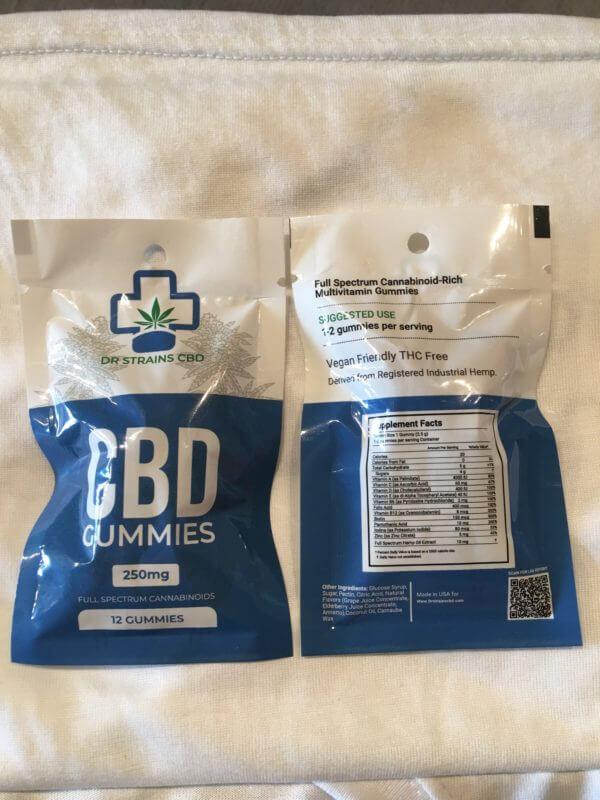 CBD Gummy Bags
