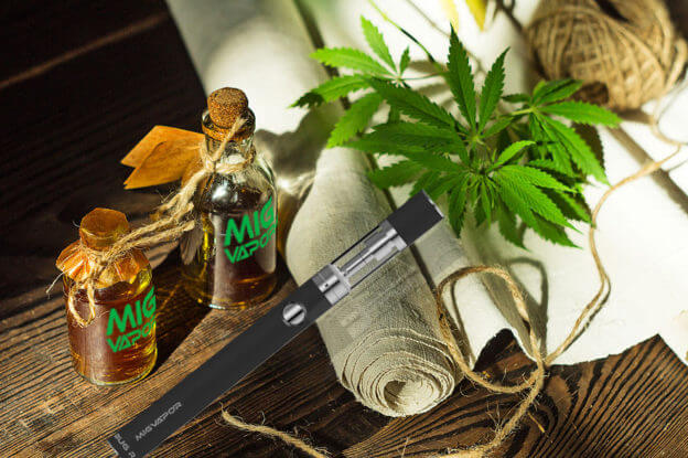 Vaping CBD hemp oil