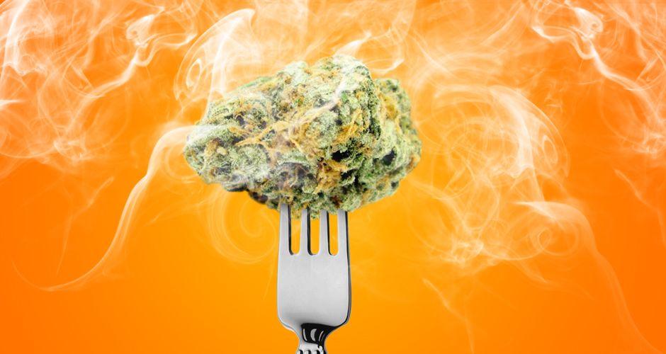 Cannabis hemp flower kitchen