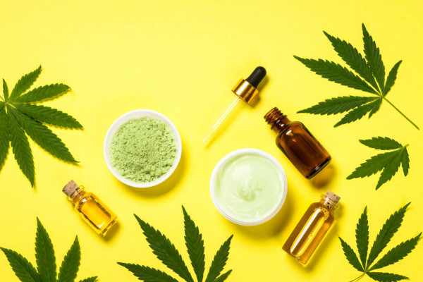 CBD flower is used for