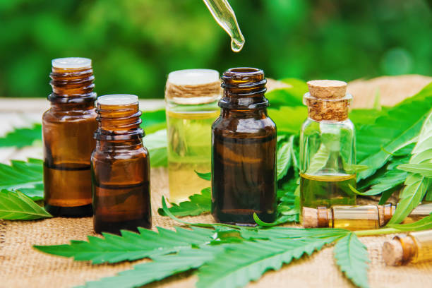 Contrasting water soluble CBD and CBD Oil