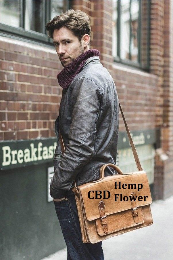 Adding CBD Hemp Flower to your briefcase